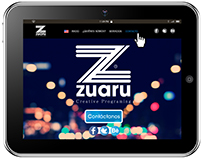Zuaru Website (Design & Development)