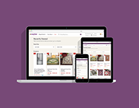 Wayfair Recently Viewed Feed