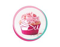 Logo - CupCakes Delicia da Su