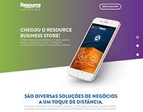 Landing Page - App Resource