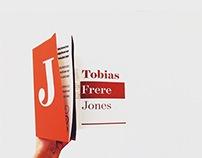 Tobias Frere-Jones | Tri-fold poster board