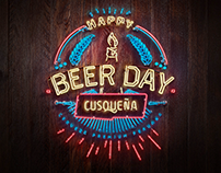 Happy Beer Day - Cusqueña