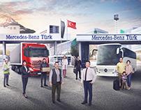 Mercedes-Benz Türkiye Yılbaşı İlanı