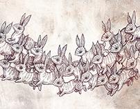 Rabbits all the way