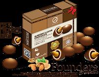 DRAGEE CHOCOLATE - SQUARE BOX SERIES