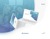 Blue Star Dentist Website UX/UI Design