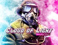 Cloud of Light Photoshop Action