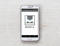 Mastor-e service | Android app [2015]