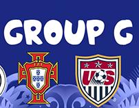 Brazil 2014 fantasy kits Group G