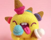 Scoopsie Scoop Madness, ice cream Art Toy