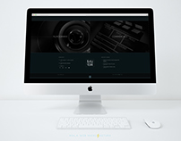 Web site redesign for Bas Celik Production
