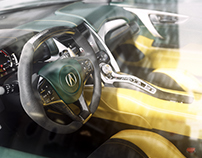 CGI Acura NSX
