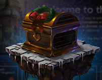 League of Legends: Gifting Chest Motion