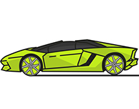 Illustration Lamborghini