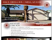 Real Estate Print Flyer