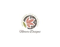 Nature designs readymade logo design.
