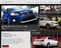 Official Lexus Dealer Website Theme