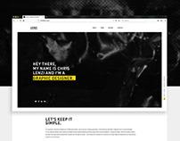 Portfolio Site & Brand Identity Refresh