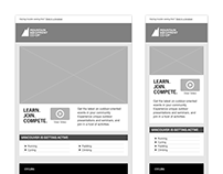 MEC Email Wireframes