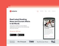 Redesign for inshorts.com