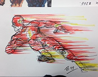 Free Comic Book Day Sketch