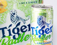 Tiger Radler Citrus Illustrations