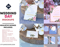 Wedding Day Mockups