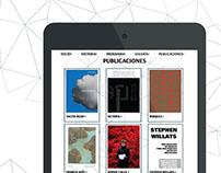 Diseño web adaptivo- Museo Tamayo de Arte Contemporáneo