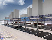 CALGARY | PV PANEL SHADING DEVICE | RENDERING