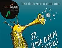 İzmir Caz Festivali Afiş Tasarımım