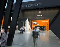 Peugeot Stand Concept Design - Egypt - Formula 2017