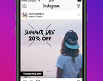 FREE 8 Sale Designs for Instagram