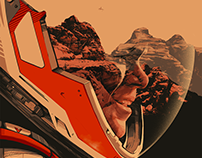The Martian Poster for Mondo