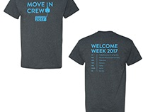 Anderson University Move-In Day Shirts 2017