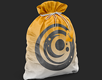 Free PSD Mockup of the Textured Gym Sack [Trial]