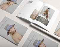 Lookbook Design for Belgian Millinery