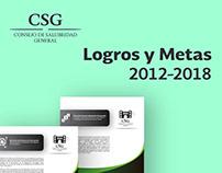 Logros y Metas 2012-2018 CSG