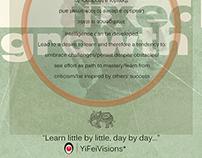 Fixed Mindset VS Growth Mindset Poster Desgin