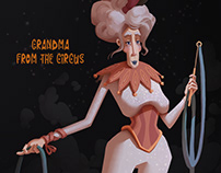 Grandma from the Circus
