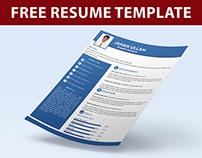 Free Resume Template (PSD)