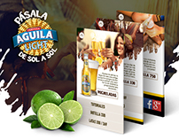 AGUILA LIGHT - SITE PRODUCTO