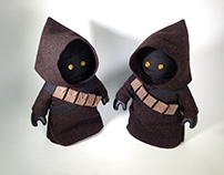 Handmade StarWars JAWA Toy Costume