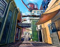 FIGURAMA, Sense A - City Concept