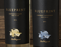 Blueprint (Lail Vineyards) Wine Packaging & Logo Design