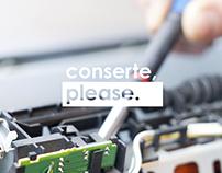 Conserte, Please - Marca e Aplicações