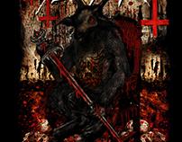 Slayer - Inglewood Event Poster