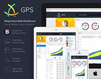 GPS Responsive Web Dashboard