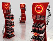 Coke Studio Season 10 POSM Displays