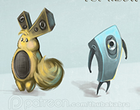 Loudspeaker Character Brainstorming/Concept