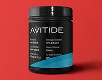 Avitide Label Design